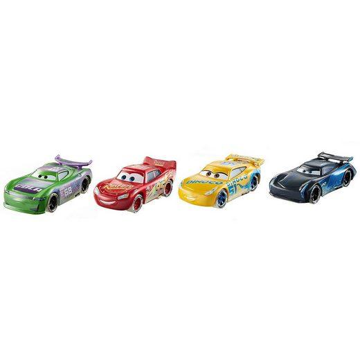 Mattel® Disney Cars Fireball Beach Rennfahrzeuge 4er-Pack (H.J. Holl