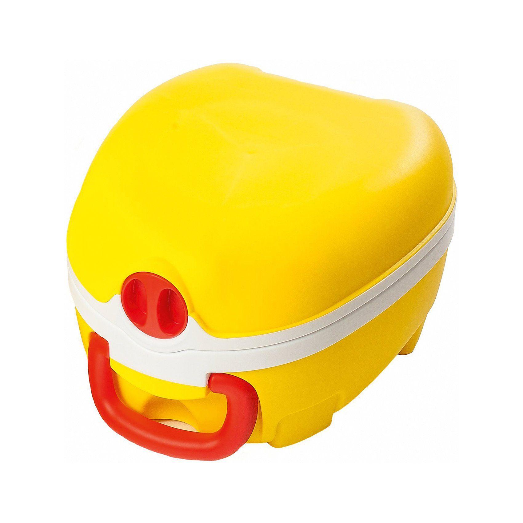 Tragbares Töpfchen für unterwgs My Carry Potty, gelb