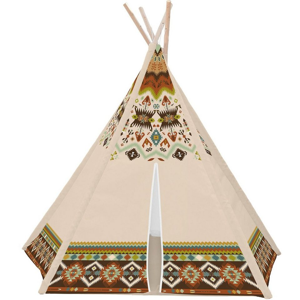 tipi zelt indianer altersempfehlung ab 2 jahren online kaufen otto. Black Bedroom Furniture Sets. Home Design Ideas
