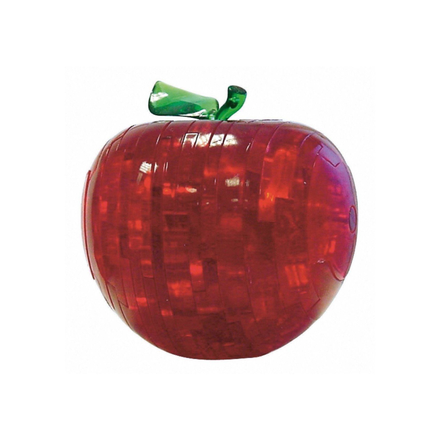 Crystal Puzzle - roter Apfel