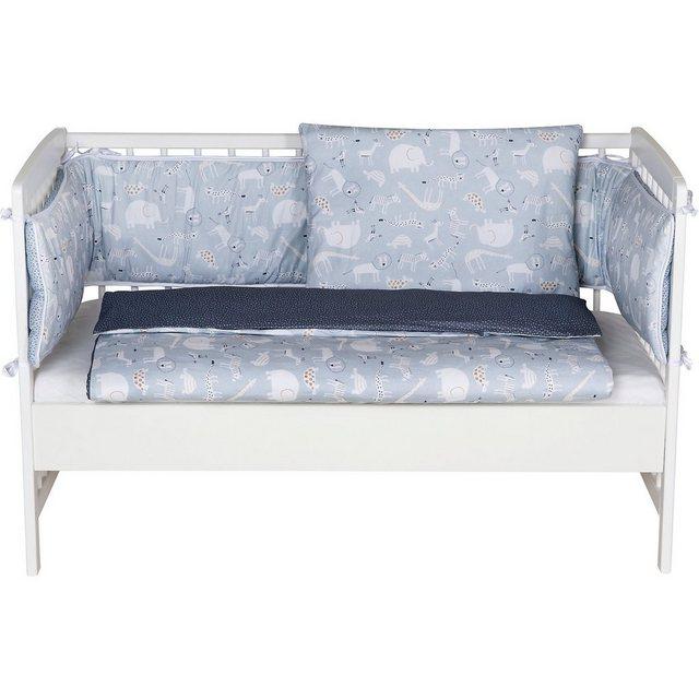Kinderbetten - Schardt Beistell Kinderbett Micky, inkl. Komfort Matratze und Ausst » blau  - Onlineshop OTTO