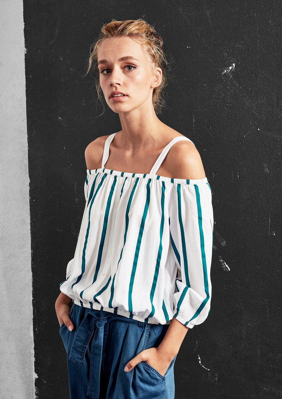 q/s designed by -  Kurze Off Shoulder-Bluse