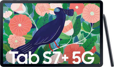 "Samsung Galaxy Tab S7+ 5G Tablet (12,4"", 256 GB, Android, 5G)"