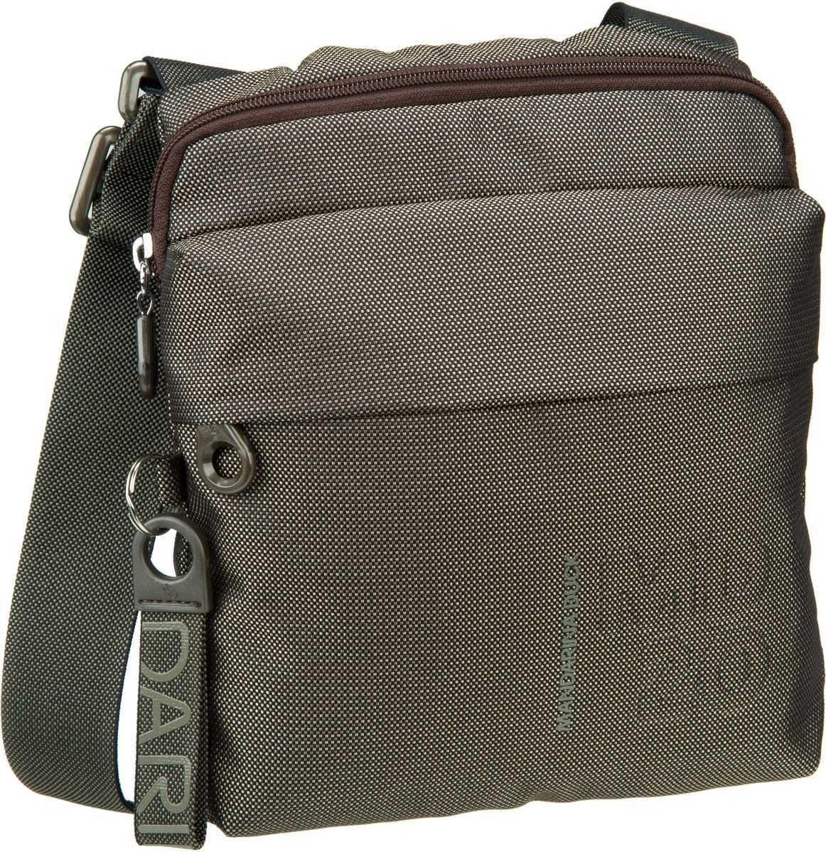 Umhängetasche MD20 Small Crossover Bag QMT04 Light Taupe Mandarina Duck 23pDYQRm