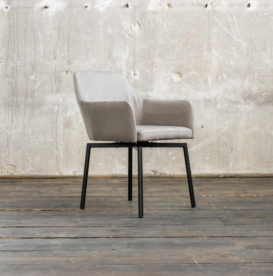 kawola drehstuhl kunstleder oder microfaser versch farben loui online kaufen otto. Black Bedroom Furniture Sets. Home Design Ideas