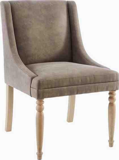 GMK Home & Living Esszimmerstuhl »Morsum« mit schöner Sitzpolsterung und geschwungenen, anliegenden Armlehnen