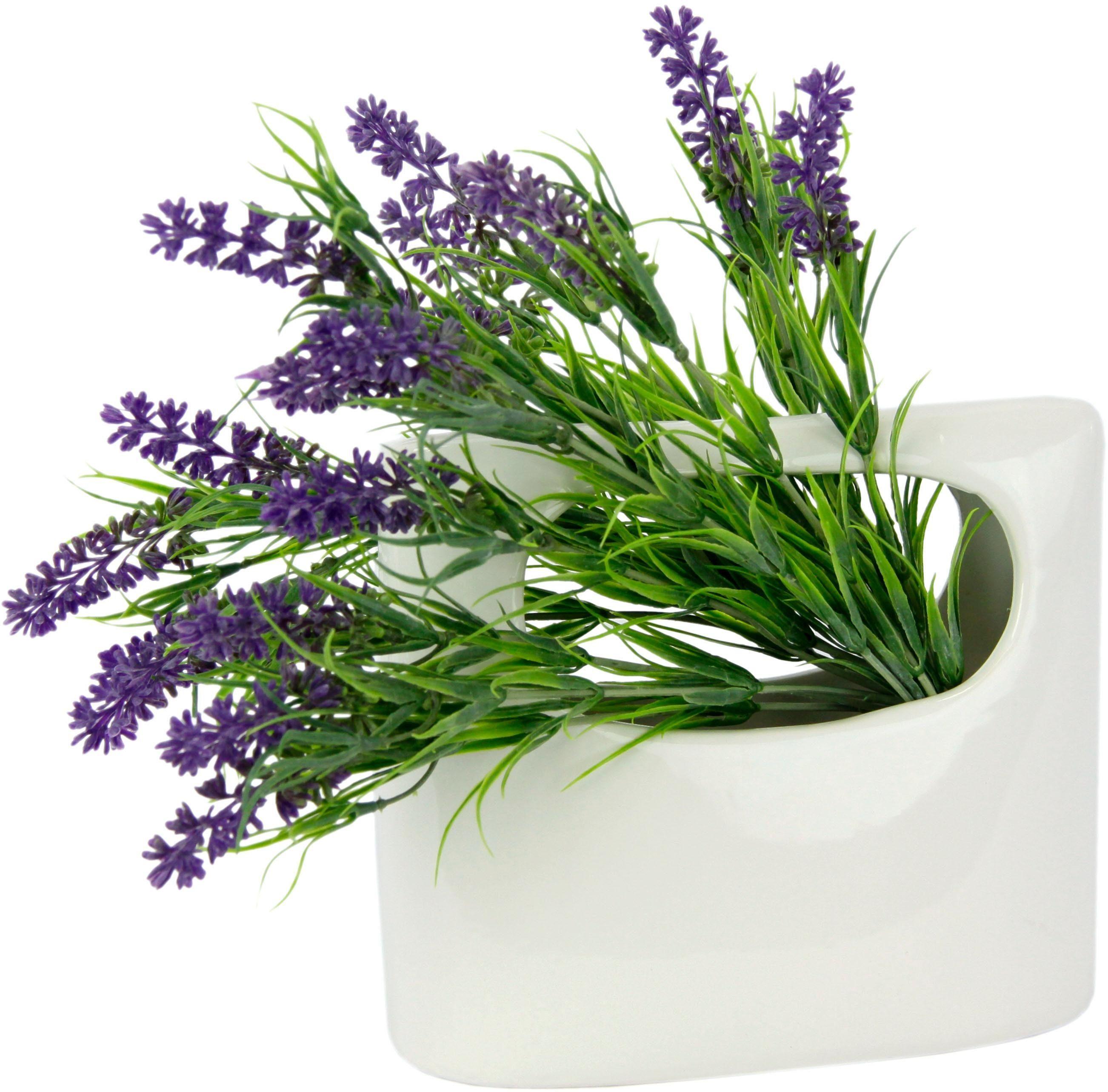 Kunstpflanze »Lavendel«