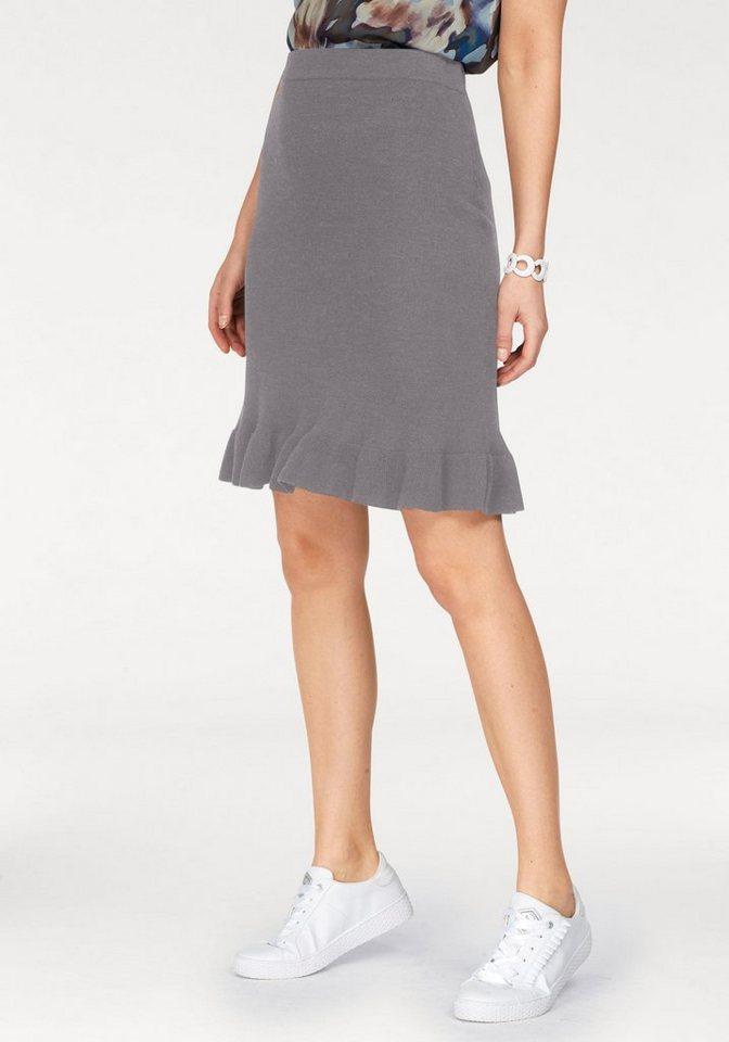 finest selection fd509 a06e9 CLAIRE WOMAN Strickrock Mit Volant online kaufen | OTTO