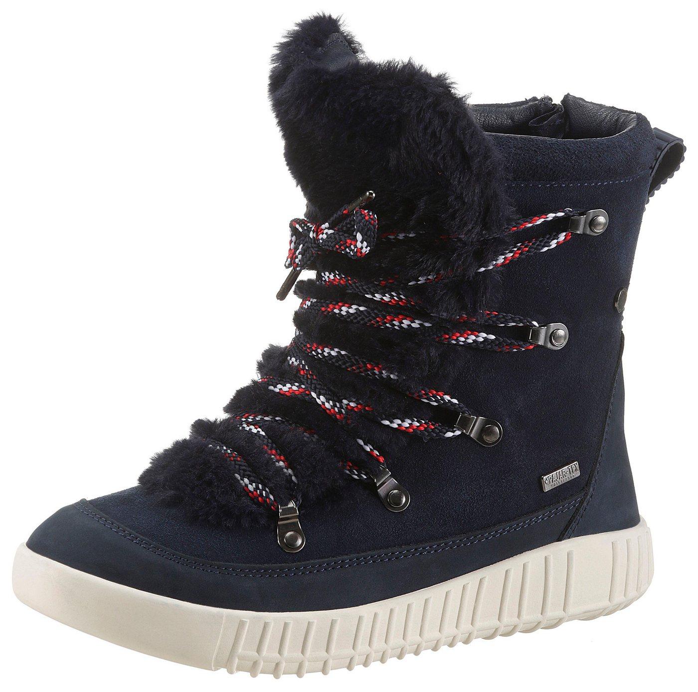 Pajar Canada Winterboots mit modischer Bergsteiger-Schnürung | Schuhe > Boots > Winterboots | Blau | Pajar Canada
