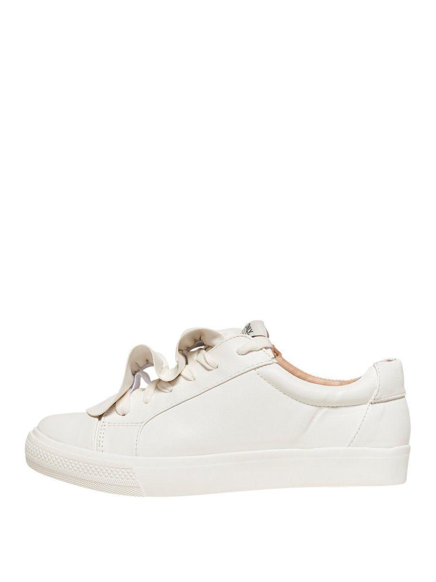 Only Rüschen Sneaker online kaufen  White