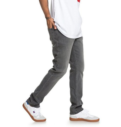 DC Shoes Straight-Jeans »Worker Medium Grey«