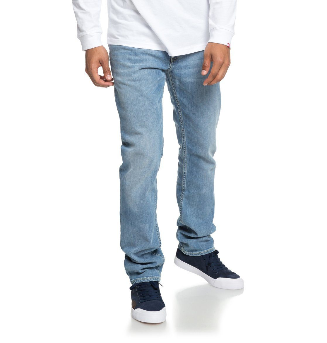 DC Shoes Straight-Jeans »Worker Light Bleach«
