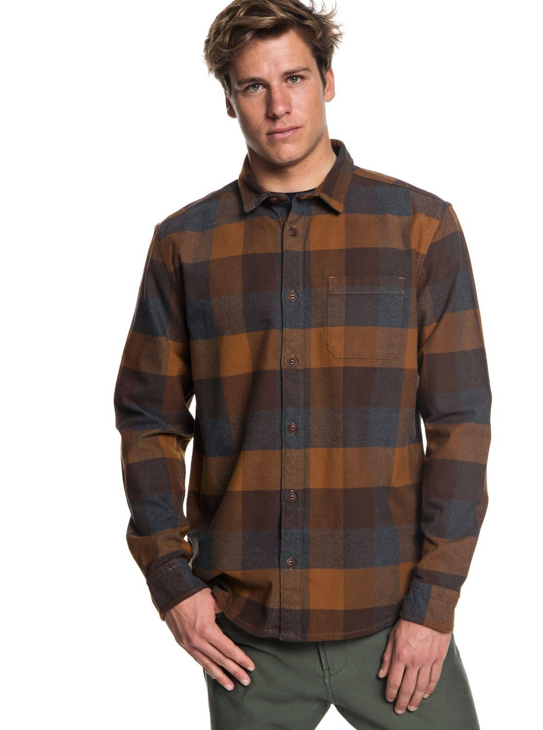 Quiksilver Langarmhemd »Stretch Flannel«