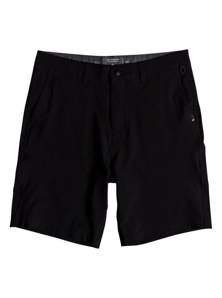 Herren Quiksilver Amphibian-Shorts Union 20 schwarz | 03613373846464