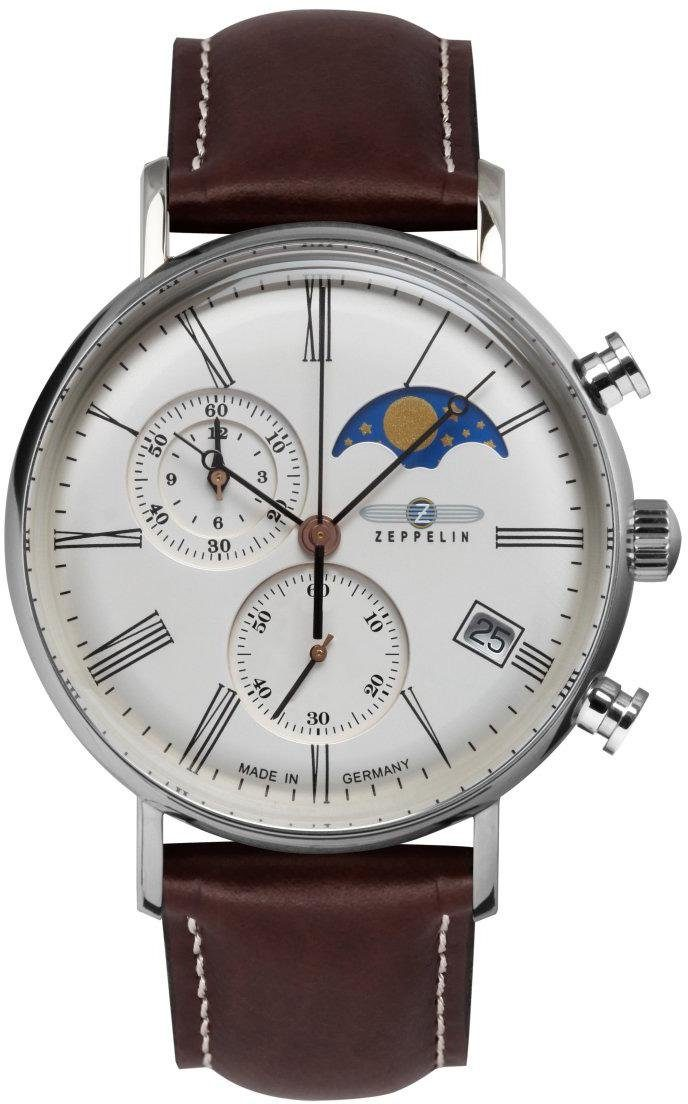 ZEPPELIN Chronograph »LZ 1270Rome, 7194-5« Made in Germany