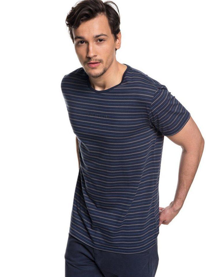 Herren Quiksilver UPF 30 T-Shirt Koda Rocks blau | 03613373901668