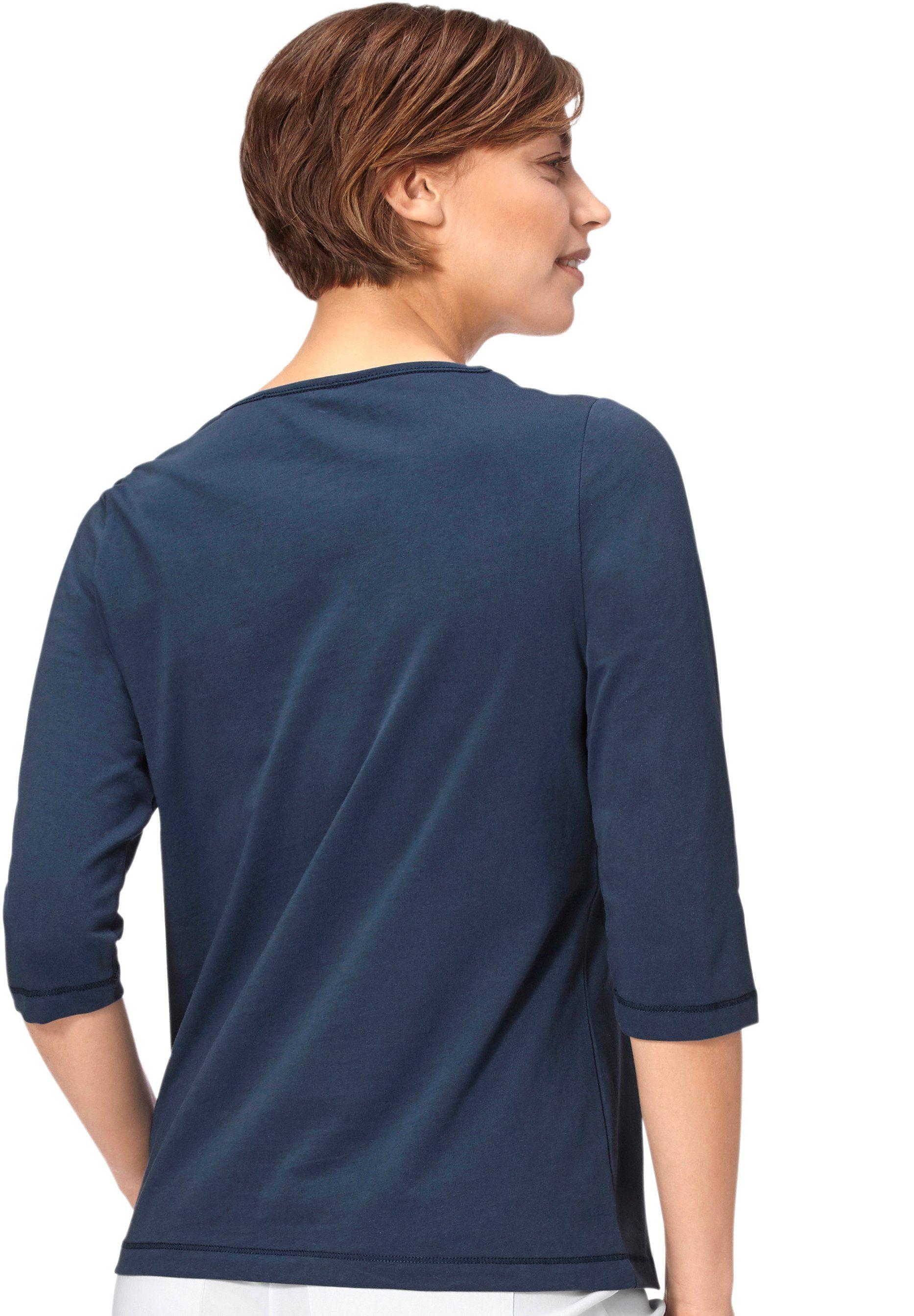 Ornamentmotiven Online Vorderteil Shirt Classic Kaufen Basics Mit Im wOPn0k