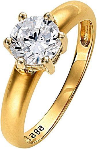Lady Ring mit wertvollem Einkaräter