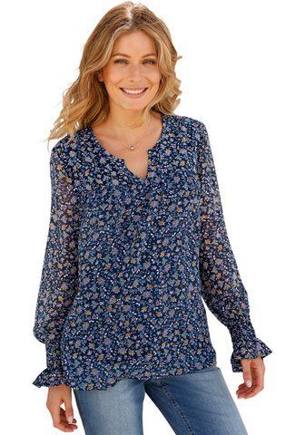 CLASSIC INSPIRATIONEN Блуза в шифон