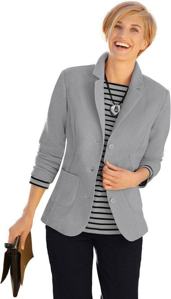 235f7384bf50 Casual Looks Fleece-Blazer mit Reverskragen kaufen | OTTO