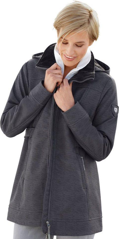 Damen Collection L. Softshelljacke mit kuscheligem Fleece grau | 08935258785244