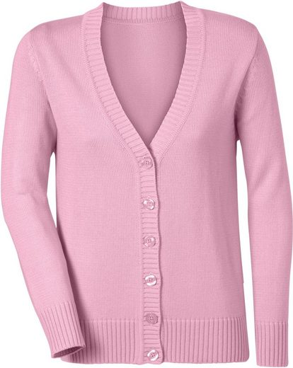 Looks Fashioned« In Strickjacke Casual verarbeitung »fully Zd7qW7Cw