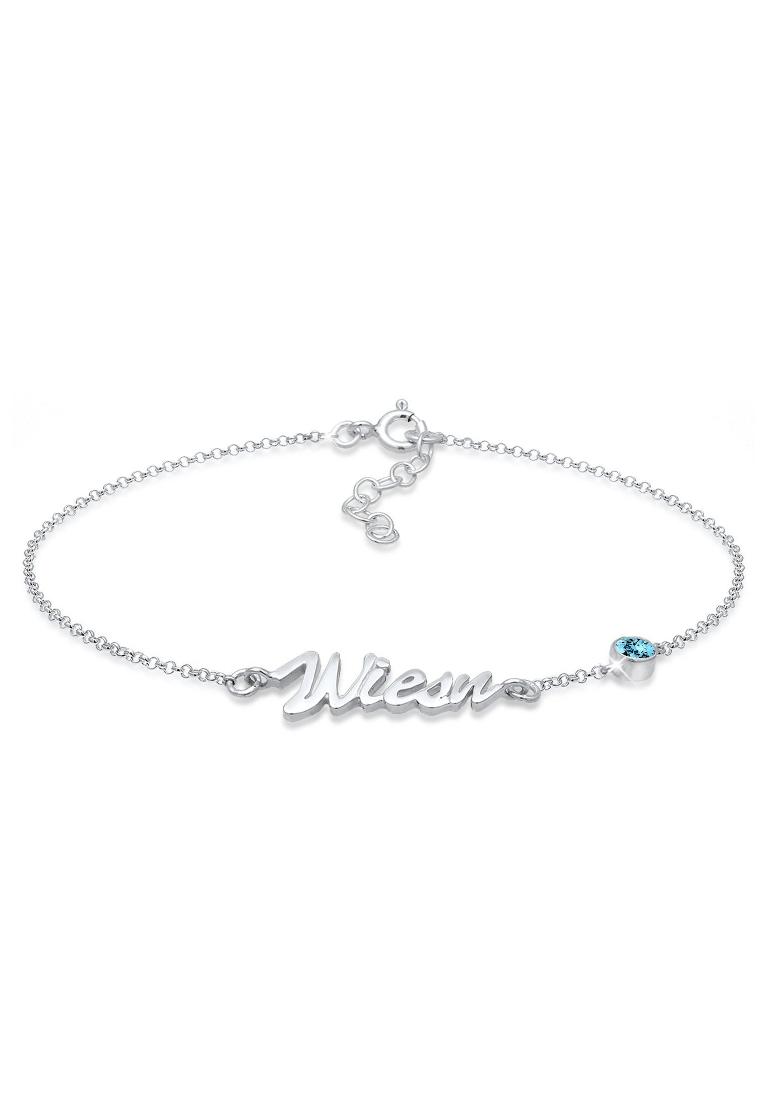 Elli Armband »Oktoberfest Wiesn Swarovski® Kristalle 925 Silber«