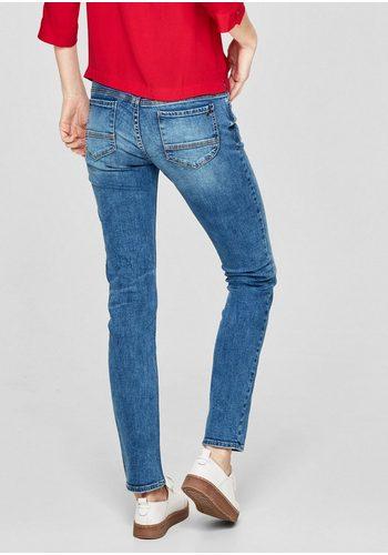 Damen s.Oliver RED LABEL Shape Slim: Bluejeans blau | 04059998126472