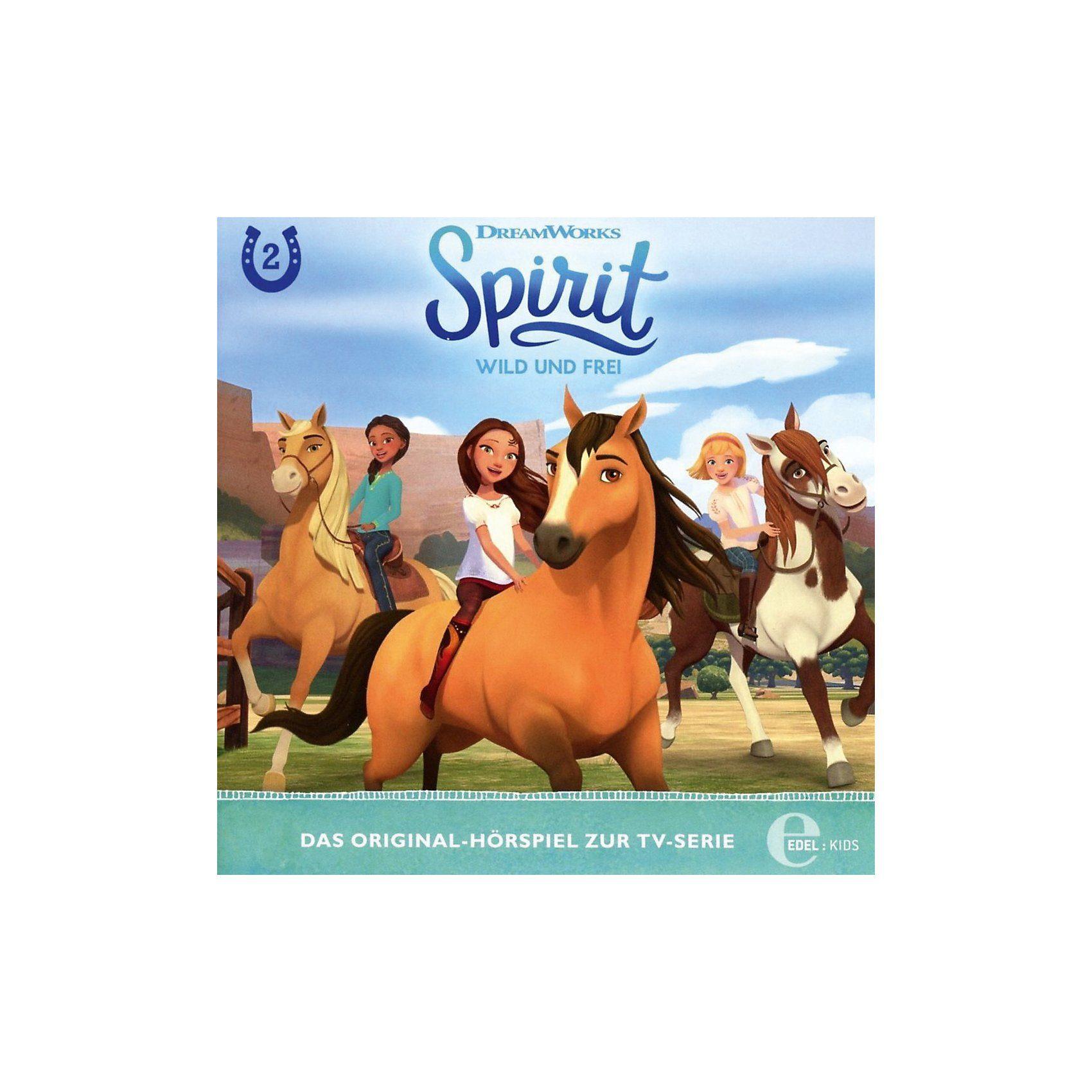 Edel CD Spirit, wild und frei 2 - Die Rätselhafte Karte