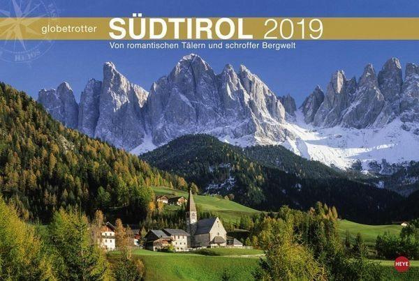 Kalender »Südtirol Globetrotter 2019«