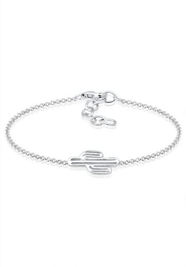 Elli Armband »Kaktus Wüste Boho Festival Cut Out 925 Silber«