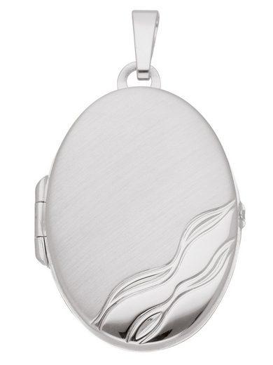 Adelia´s Kettenanhänger »Silber 925 Sterling Silver Medaillon Anhänger«, 925 Sterling Silber