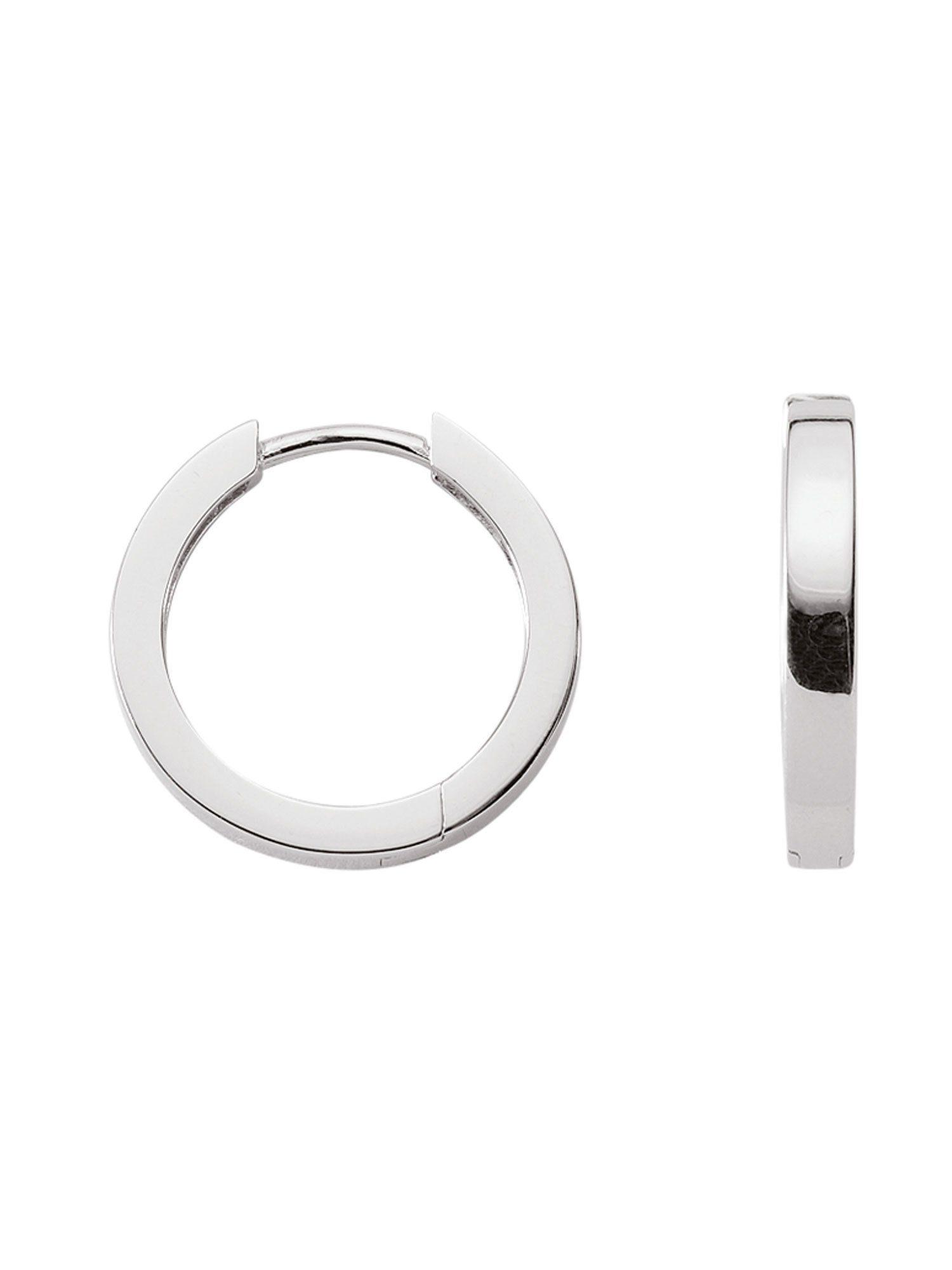 Adelia´s Paar Creolen »Silber Ohrringe«, 925 Sterling Silber Ø 1.35 cm