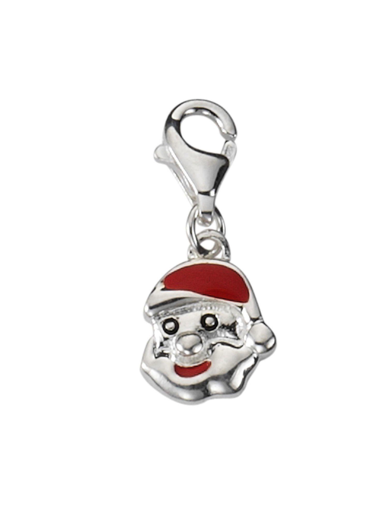Adelia´s Charm-Einhänger »Silber Anhänger« 925 Sterling Silber mit Email