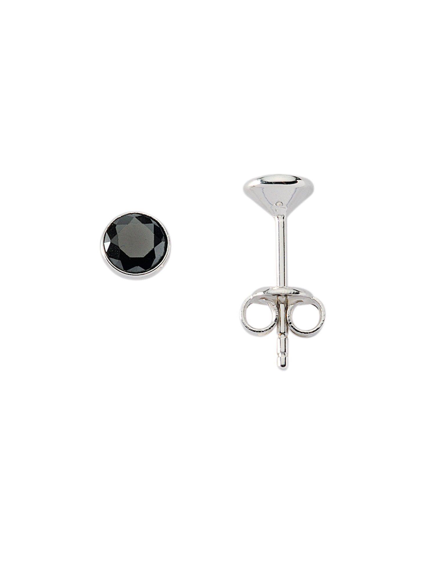 Adelia´s Paar Ohrstecker »Silber Ohrringe« 925 Sterling Silber mit Zirkonia Ø 4.5 mm | Schmuck > Ohrschmuck & Ohrringe > Ohrstecker | Silber | Adelia´s