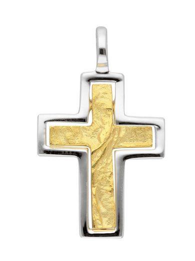 Adelia´s Kettenanhänger »Gold 8 k (333) Kreuz Anhänger«, 8 k 333 Gelbgold