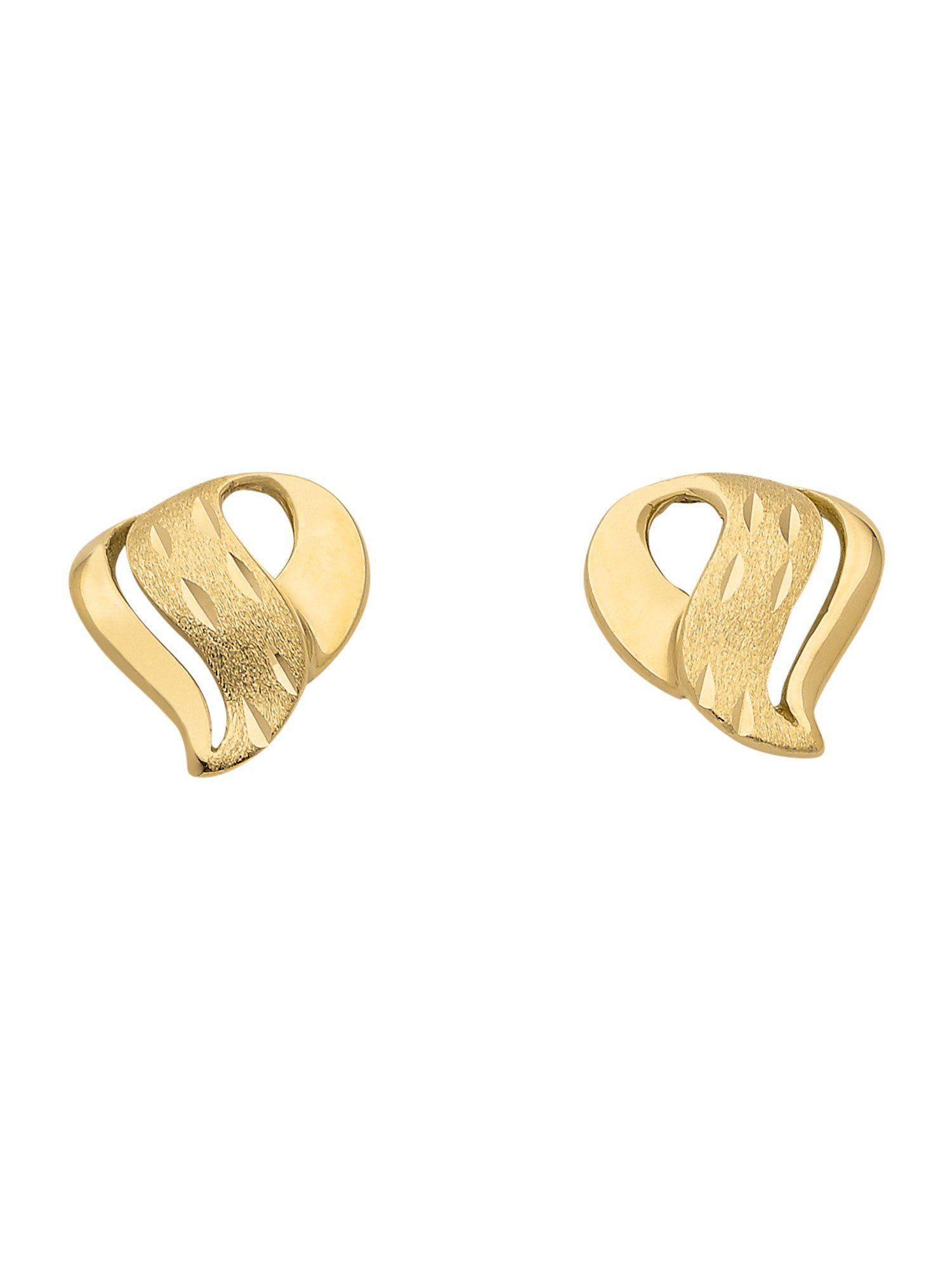 Adelia´s Paar Ohrstecker »Gold Ohrringe« 8 k 333 Gelbgold