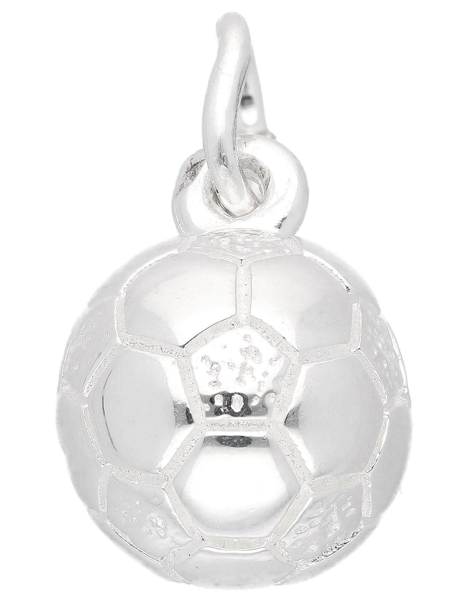 Adelia´s Kettenanhänger »Silber 925 Sterling Silver Motiv - Anhänger« Fussball 925 Sterling Silber Ø 8.6 mm