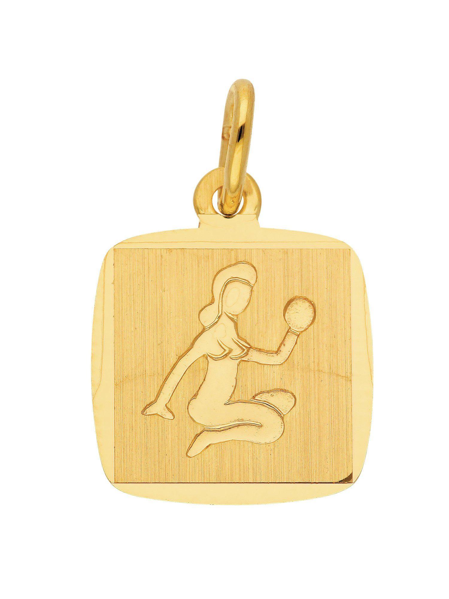 Adelia´s Kettenanhänger »Sternzeichen Gold Anhänger« Jungfrau 8 k 333 Gelbgold
