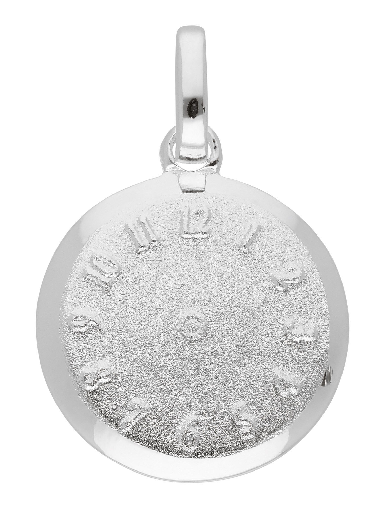 Adelia´s Kettenanhänger »Silber Anhänger« Taufuhr 925 Sterling Silber Ø 1.27 cm