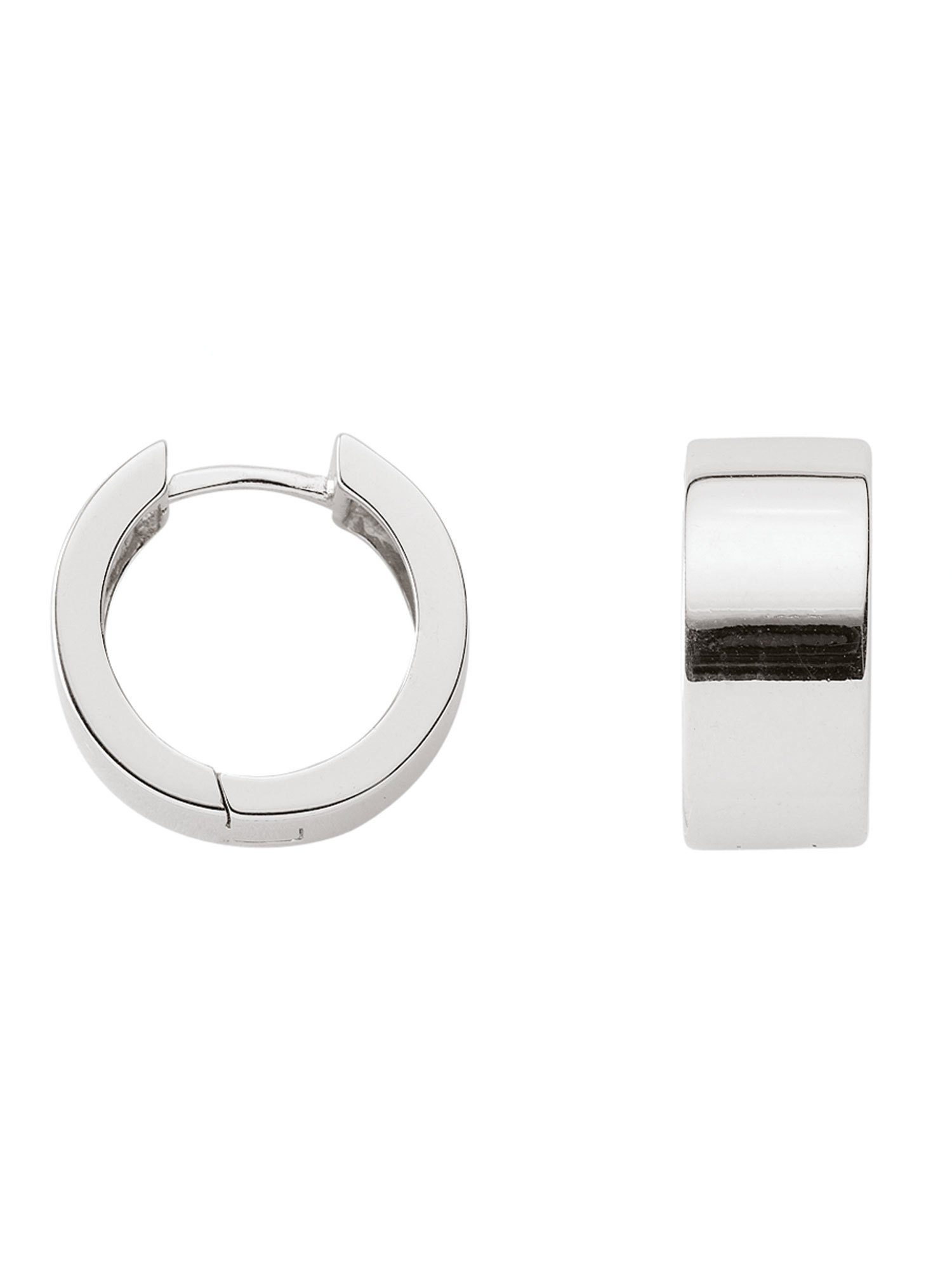 Adelia´s Paar Creolen »Silber Ohrringe« 925 Sterling Silber Ø 1.52 cm