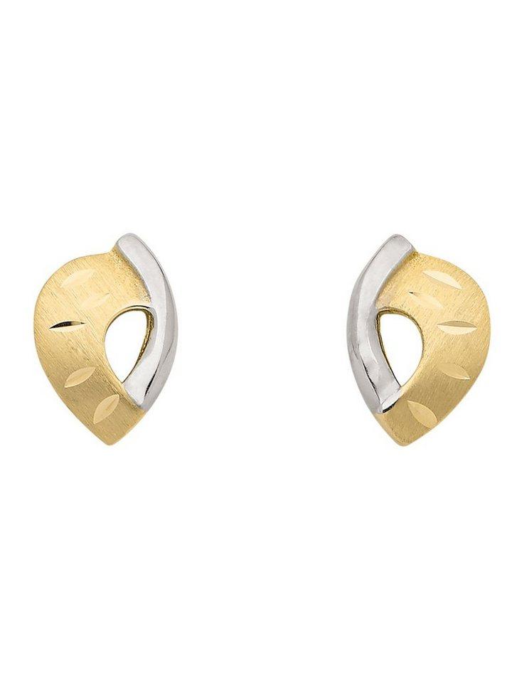 Adelia´s Paar Ohrstecker »Gold Ohrringe« 8 k 333 Gelbgold | Schmuck > Ohrschmuck & Ohrringe > Ohrstecker | Goldfarben | Adelia´s