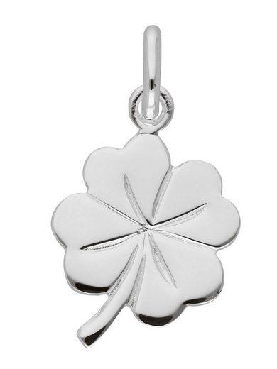 Adelia´s Kettenanhänger »Silber 925 Sterling Silver Motiv - Anhänger«, Kleeblatt 925 Sterling Silber