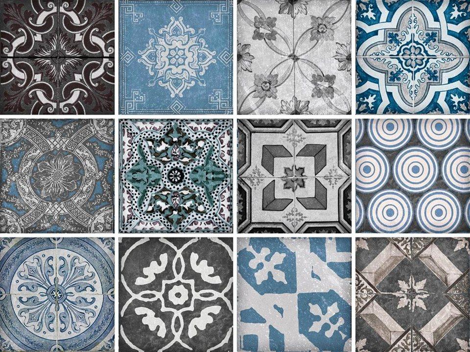 fliesenaufkleber mosaik muster 12x 1515 cm - Mosaik Muster