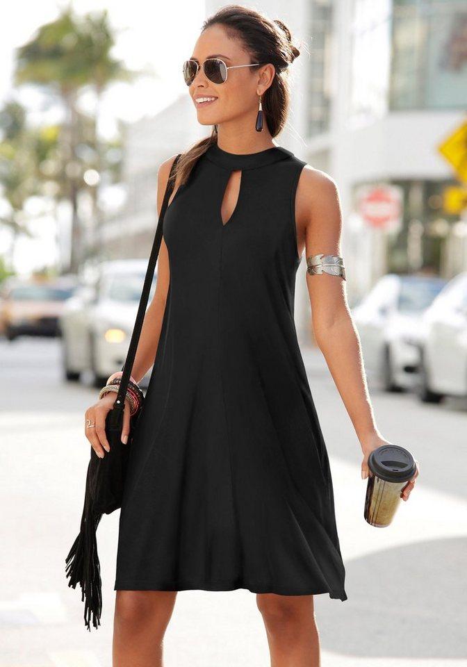 LASCANA Kleid in weit schwingender Form kaufen  OTTO