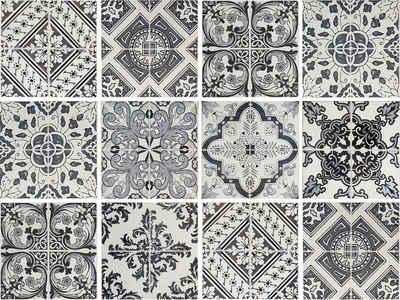 queence Fliesenaufkleber »Muster I« (Set, 12 Stück)