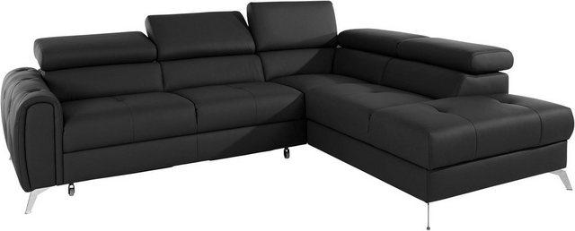 Sofas - exxpo sofa fashion Ecksofa, wahlweise mit Bettfunktion  - Onlineshop OTTO