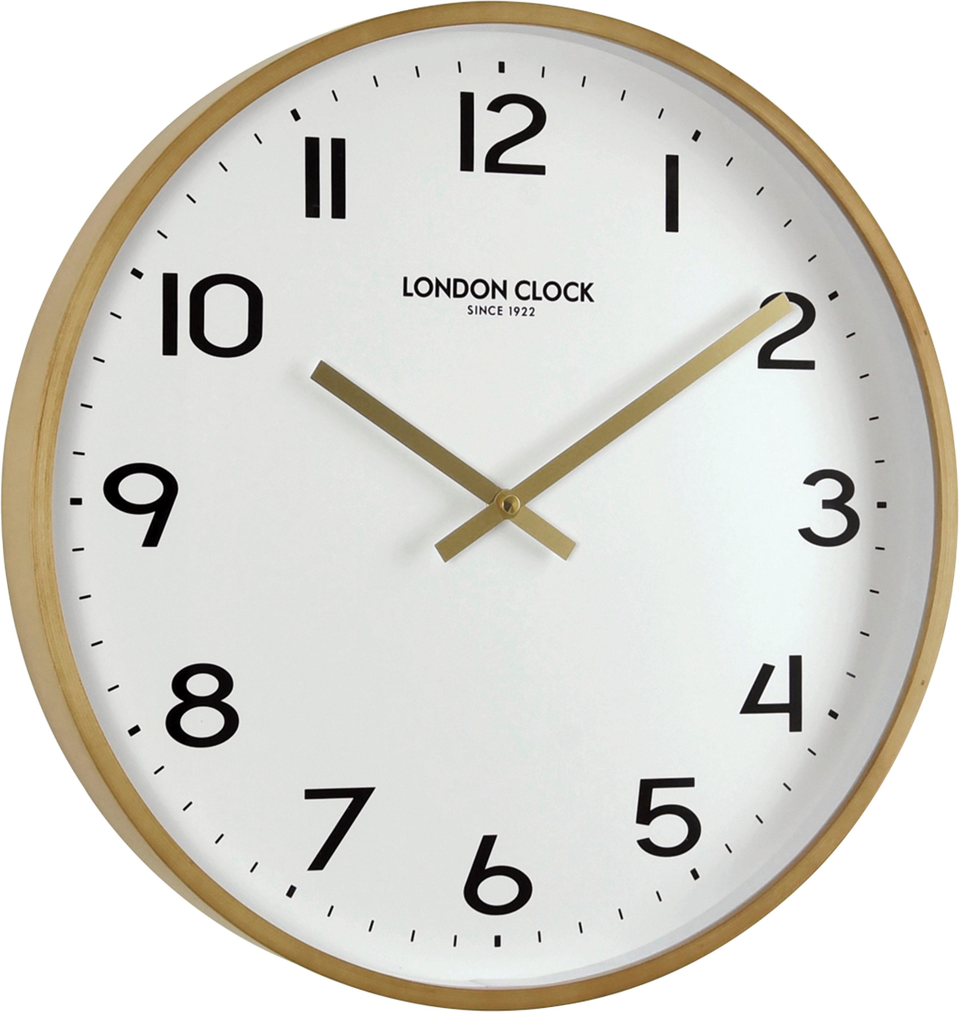 Wanduhr Inosign Aus 1922« »london BuchenholzOtto Clock wN8nk0OXP