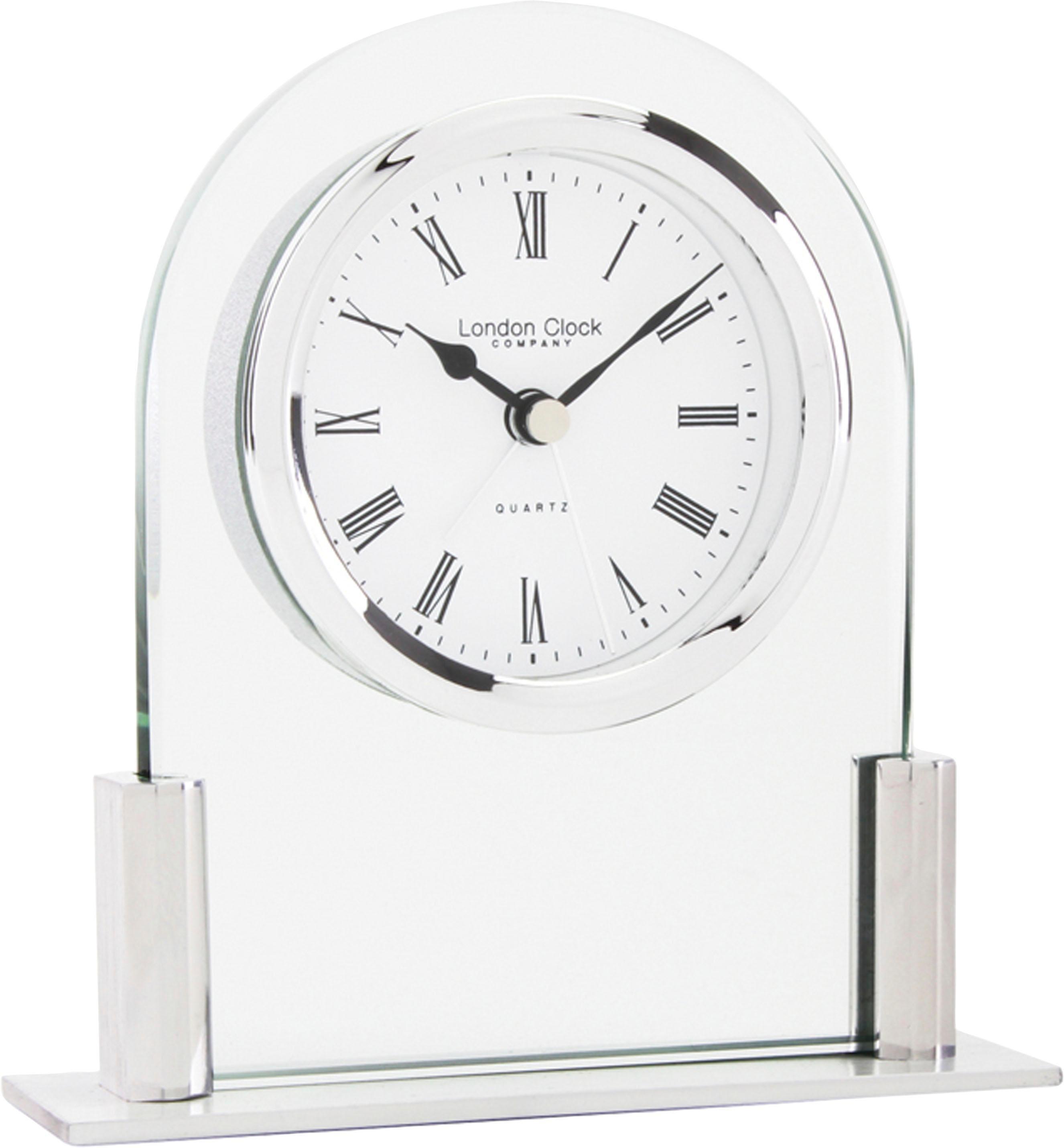 Home Affaire Tischuhr »London Clock 1922« aus Glas, Alarmfunktion | Dekoration > Uhren > Standuhren | Glas | Home affaire
