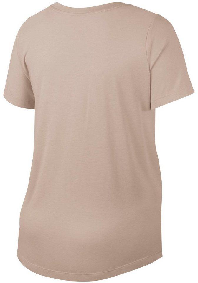 nike sportswear t shirt w nsw essntl t shirt plus size. Black Bedroom Furniture Sets. Home Design Ideas